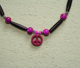 Peace Sign Choker